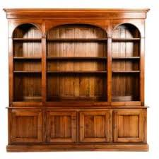 Solid Cherry Wood Bookcase 1950s Bookcases 227 For Sale At 1stdibs