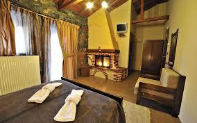 double with fireplace nifada vora rooms palaios agios athanasios