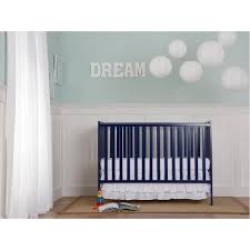 Dream On Me Portable Mini Crib by Dream On Me Synergy 4 In 1 Convertible Crib Dark Blue Toys