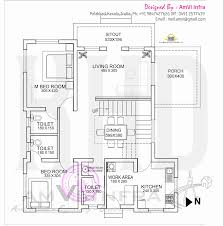 floor plan and elevation of flat roof villa kerala home roof plan floor plan and elevation of flat roof villa kerala home