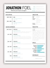 free mac resume templates resume templates for page cv curriculum vitae best simple