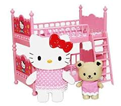 Amazoncom Hello Kitty Bunk Bed  Japanese Import  Toys  Games - Hello kitty bunk beds