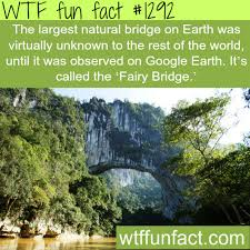 the largest bridge on earth was virtually unknown to the
