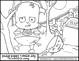 coloring pages zombie coloring pages kids kids zombie