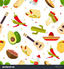 cartoon tequila aztec theme cartoon mexican food tequila stock vector 601737479