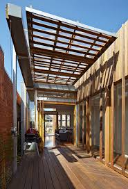 gallery of convertible courtyards house christopher megowan