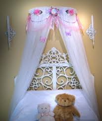 custom boutique bed canopy disney princess pink and lavender fairy