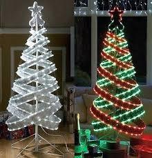 spiral christmas tree spiral light christmas tree outdoor amodiosflowershop