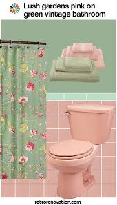 Pink Green Shower Curtain Decoration Pink And Green Shower Curtain Capricious