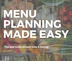 cuisine easy orens menu planning made easy a delightful home