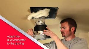nutone ultragreen series ventilation fan installation video for