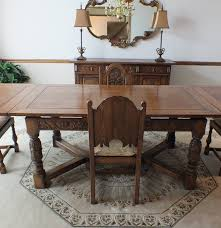 jamestown lounge feudal oak dining set ebth