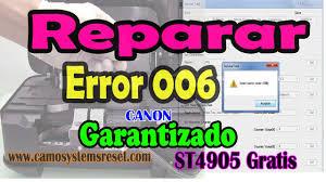 reset printer canon ip2770 error code 006 nuevo reparar error 006 service tool desbloquear tarjeta canon 100