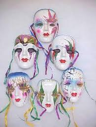 ceramic mardi gras masks vintage ceramic mask grape mardi gras mask grape