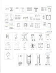 standard kitchen cabinet door sizes chart cabinet size table