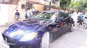 maserati mumbai spotted sushant singh rajput takes kriti sanon on a drive in his