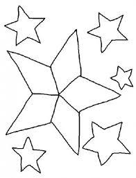 dibujos navideñas para colorear estrellas de navidad para colorear manualidades infantiles