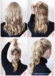 tutorial menata rambut panjang simple 4 cara menata rambut simple dan elegan agar tilan kamu lebih oke