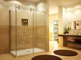 Non Glass Shower Doors Bathroom Stunning Glass Shower Enclosures Design Ideas Sipfon