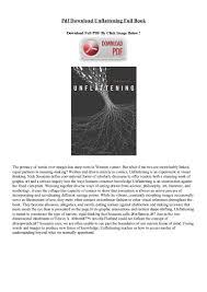 pdf download unflattening full book