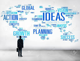 businessman planning strategy vision creativity ideas concept