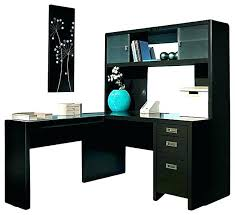 L Office Desk Black Desk With Hutch L Office Org Shaped Computer Office