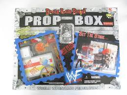 someone bought this jakks wwf break room brawl prop box