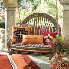 Front Porch Patio Furniture by Best 20 Southwestern Porch Swings Ideas On Pinterest Mexican