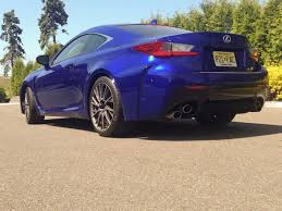 lexus rc f exhaust lexus rc f review business insider