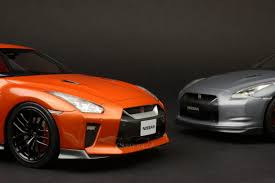 nissan gtr with your coin money tarmac works 1 18 nissan gt r r35 2017 blaze metallic orange t11 so
