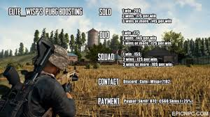 pubg cheats discord selling pubg boosting wins rating solo duo squad fast