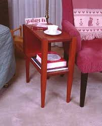 Free Woodworking Plans Small End Table by Small End Table Tutorial End Table Plans Pinterest