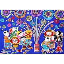 Chinese Home Decor Store Tianjin Folk Painting Happy Chinese New Year Home Décor