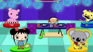 ni hao kai lan dj hoho u0027s dance party cartoon video game for kids