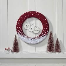 let it snow wreath favecrafts com