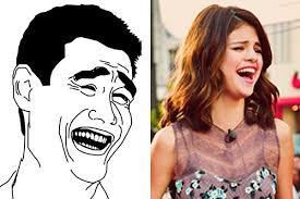 Yao Ming Face Meme - celebrities imitating internet memes yao ming face selena gomez