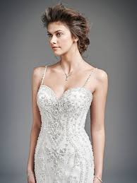 kenneth winston style 1615 detailed beading over satin makes