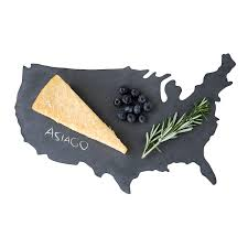 State Shaped Gifts State Slate Cheese Boards Slate Platter Host Gift Uncommongoods