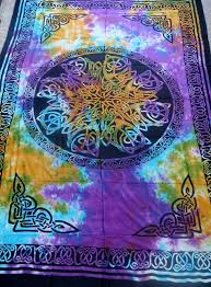 amazon com hippie indian tapestry wall bedspread tablecloth tie