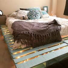 How To Make Bed Frame How To Make A Pallet Bed Frame Unac Co