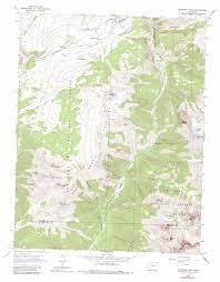 Telluride Colorado Map by Snowdon Peak Topographic Map Co Usgs Topo Quad 37107f6