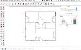 how to make 2d plans using sketchup youtube inside 2d floor plan