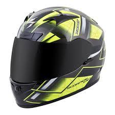full face motocross helmet scorpion exo r710 fuji full face helmet neon available at