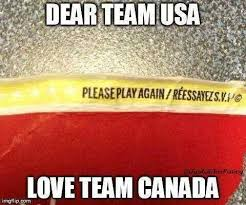 Canada Hockey Meme - team canada has eliminated usa from the 2016 world cup of hockey