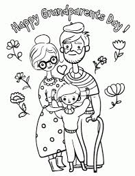 grandparents day coloring pages snapsite me