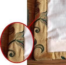 Sewing Curtains With Lining How To Make Lined Curtains Step 7a Of Our Guide To Making Curtains