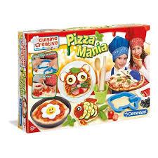 jeux cuisine de pizza clementoni pizza mania cuisine créative achat vente cuisine