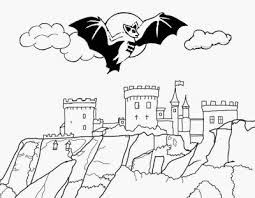 halloween vampire coloring pages lets coloring book monsters