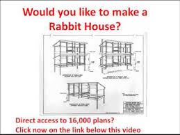 rabbit hutch plans how to make a rabbit house rabbit house