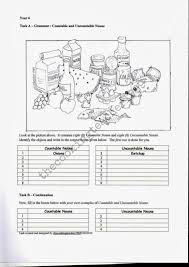 Countable And Uncountable Nouns Teaching The Cooking Identifying Countable And Uncountable Nouns